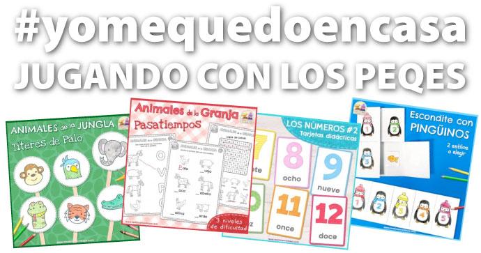 #yomequedoencasa JUGANDO CON LOS PEQUES