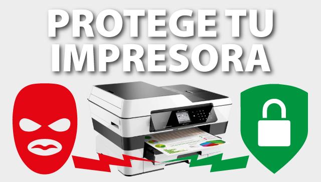 protege tu impresora